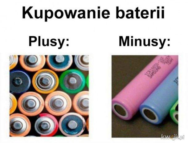 Kupowanie baterii
