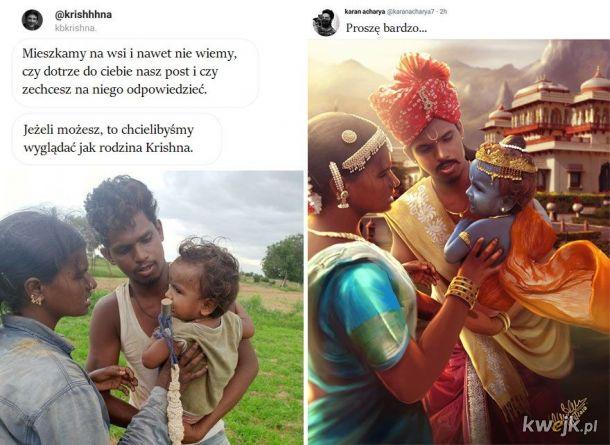 Hindusi też mają swojego Mistrza Photoshopa i niczym nie ustępuje on innym przeróbkowym kozakom