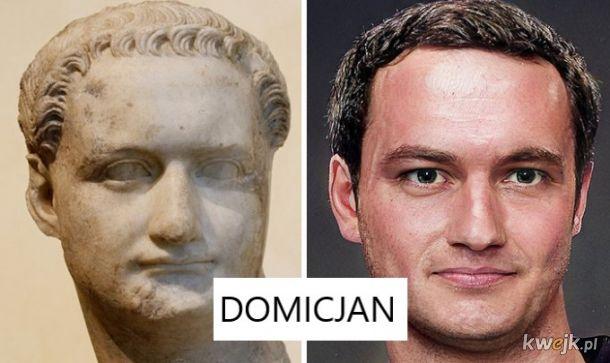 Portrety rzymskich władców na podstawie rzeźb