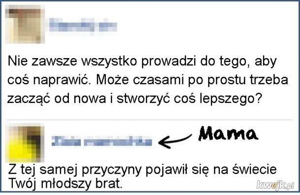 Szczera mama