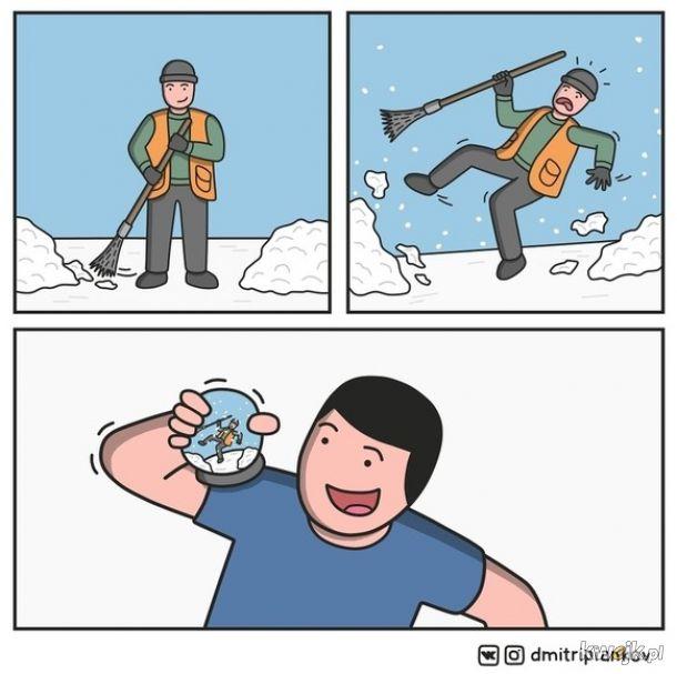 Już nie ma śniegu zimą