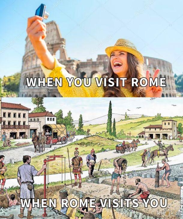 Rzym to w sumie miał misję