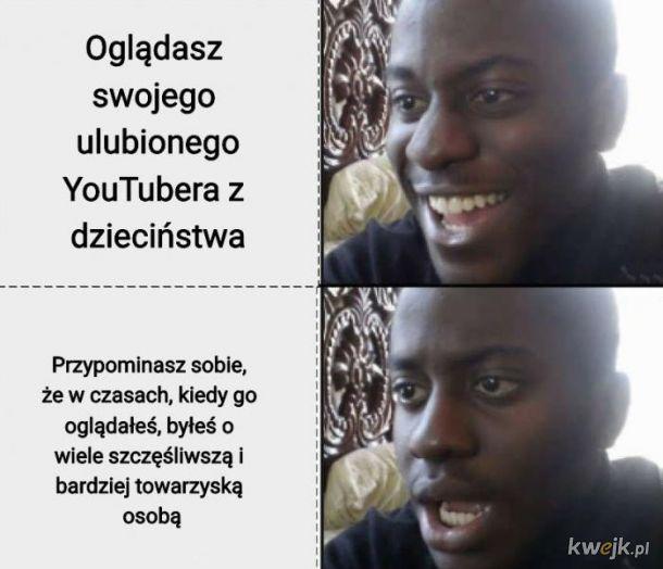 Ulubiony youtuber z dzieciństwa