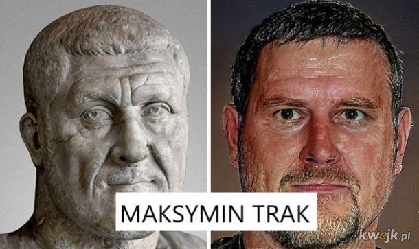 Portrety rzymskich władców na podstawie rzeźb, obrazek 2