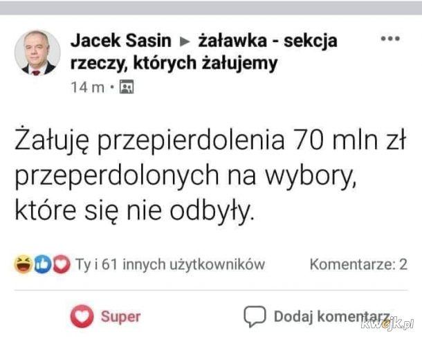 Co ten Jacuś..