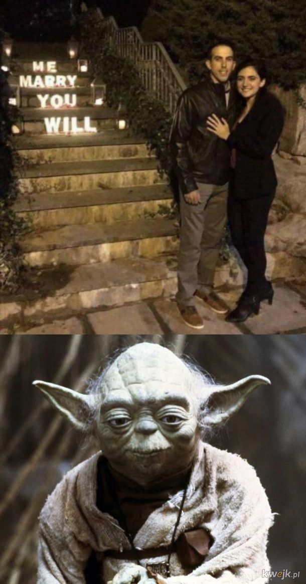 Yoda w prawdziwym życiu