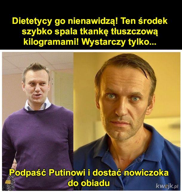 Nawalny tak schudł po zatruciu
