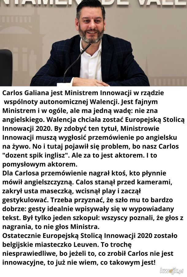 Innowacyjny Minister Innowacji