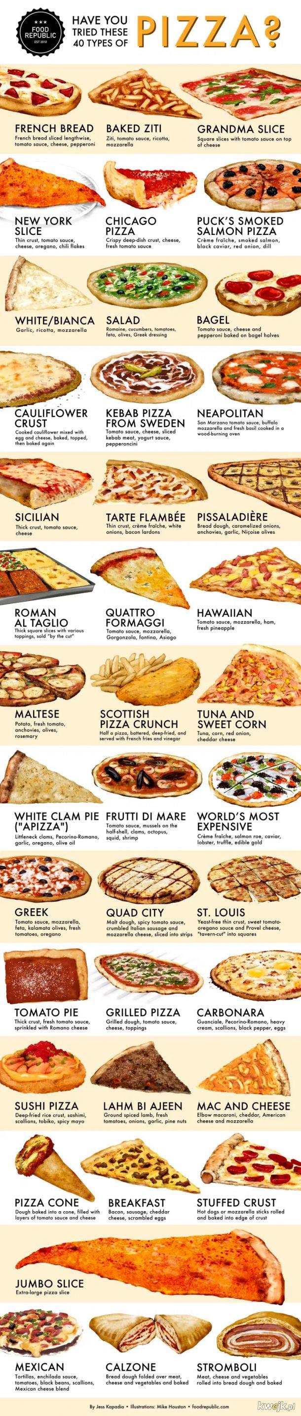 W dobie wielkiego kryzysu porozmawiajmy o czyms ważnym. która pizza jest najlepsza?