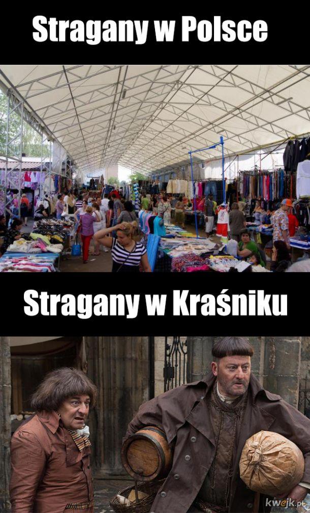 Stragany w Polsce