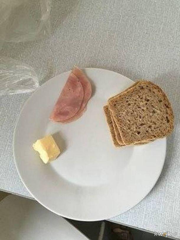 Jedzonko w szpitalach wygląda tak samo