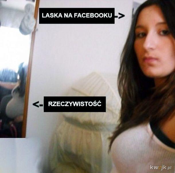 Laska na facebooku