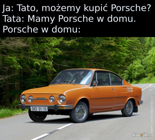 Czeskie Porsche