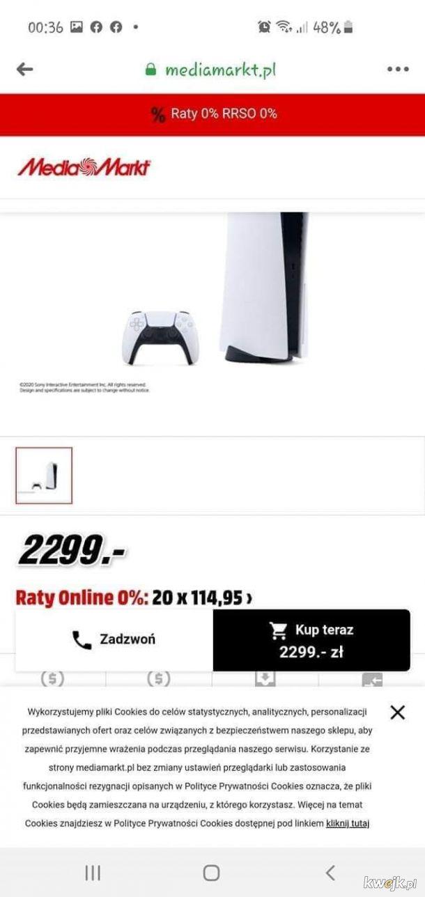 Czyli jednak trzymają się cen sugerowanych (499€)