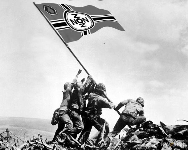 Sztandar nad Iwo Jimą 23 lutego 1945