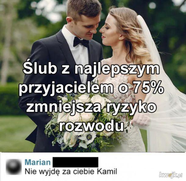 Ślub z przyjacielem