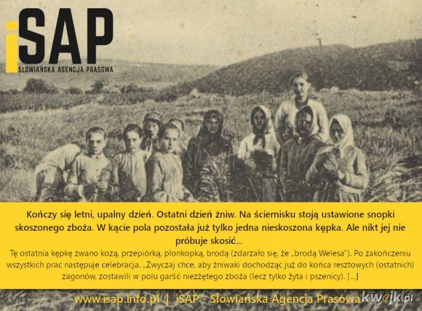 Pogańskie źródło Dożynek - więcej info: www.isap.info.pl | Słowiańska Agencja Prasowa