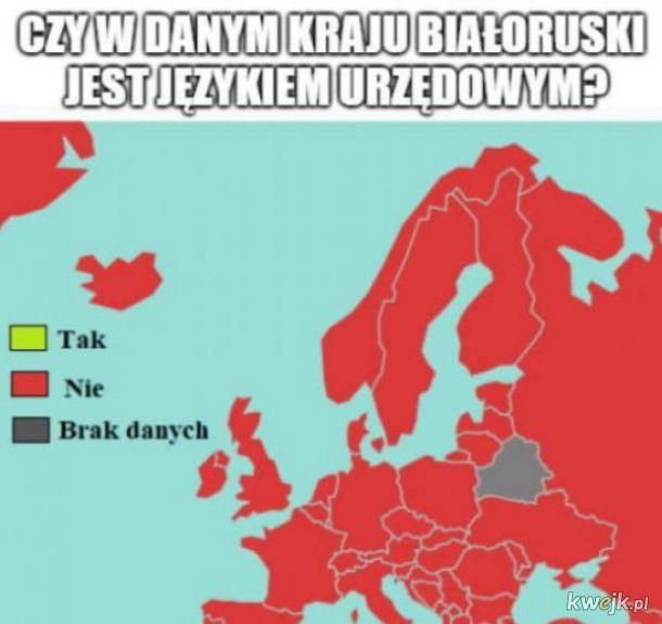 Białoruś nie umie w statystyki.