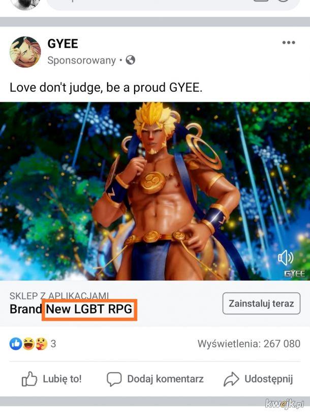 Nowy gatunek gier.. LGBT RPG!! Masakra!!