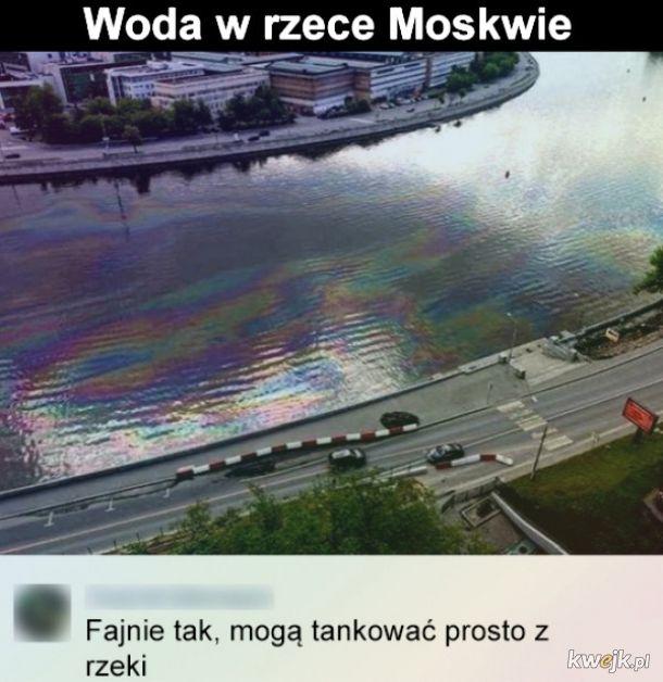 Woda w Moskwie