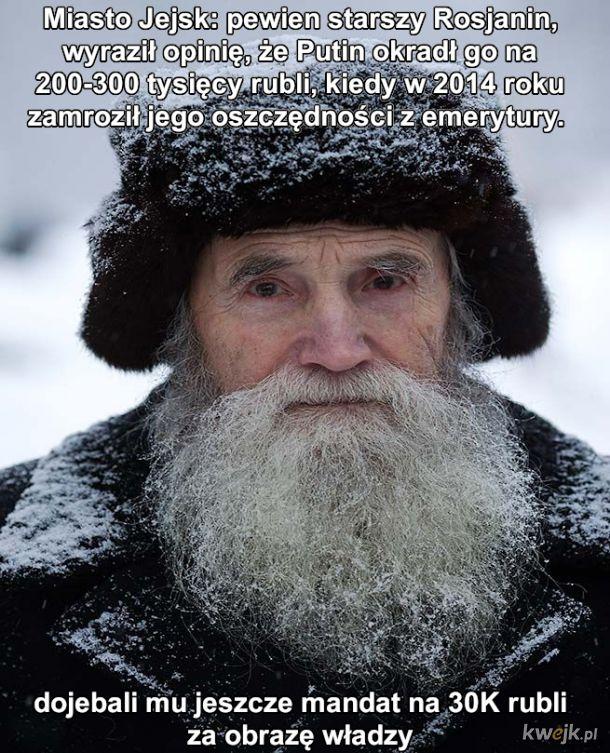 Putin zamrażacz