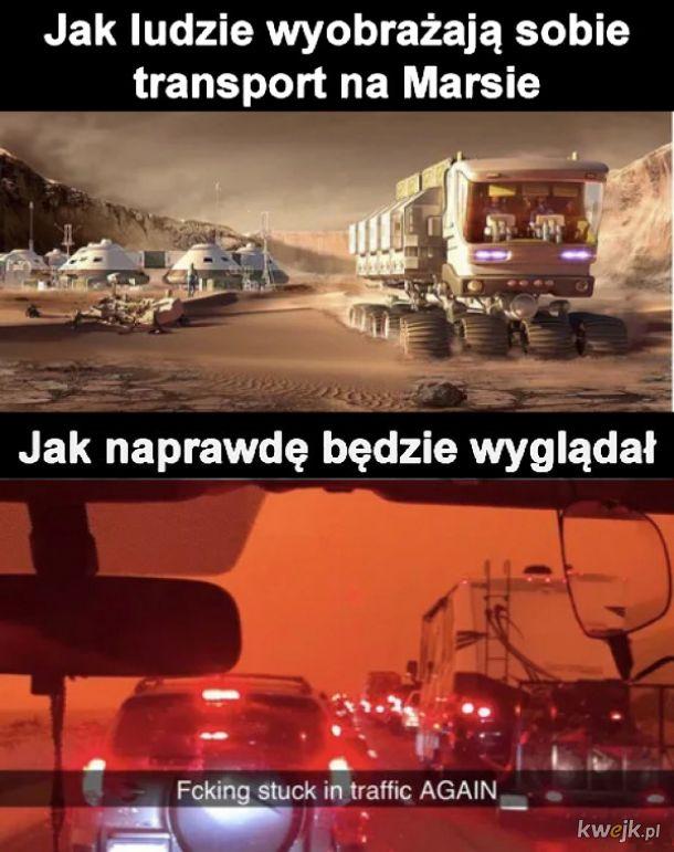 Transport na Marsie