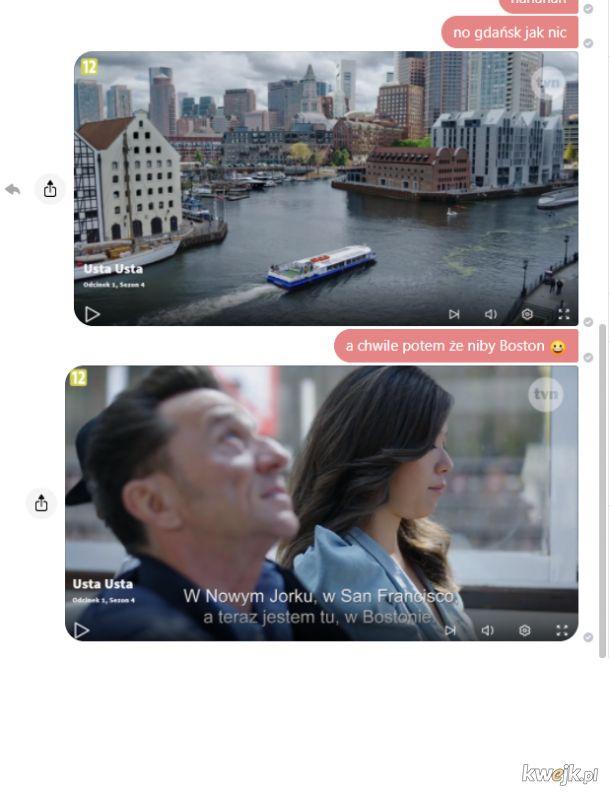 Usta Usta - serial w którym Gdańsk jest Bostonem