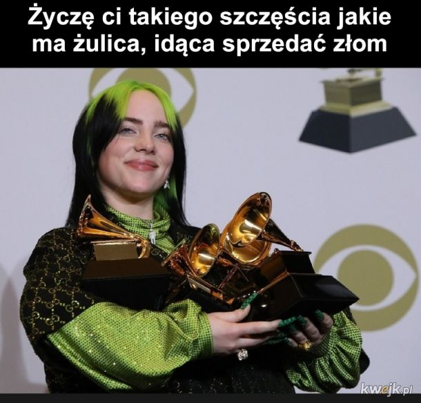 Zadowolona z nagrody
