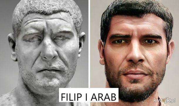 Portrety rzymskich władców na podstawie rzeźb, obrazek 25