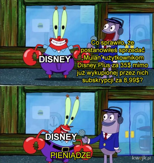 Oj, Disney