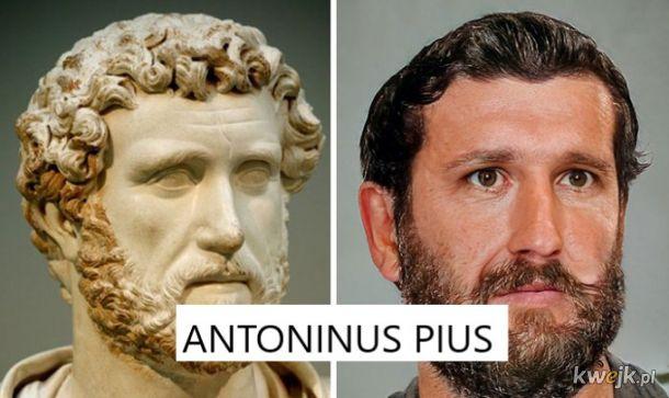 Portrety rzymskich władców na podstawie rzeźb, obrazek 8