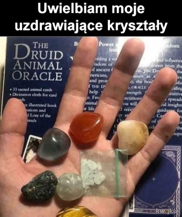 Uzdrawiające kryształy