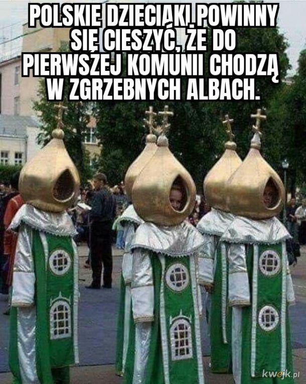 Lekko ortodoksyjne te ubranka...