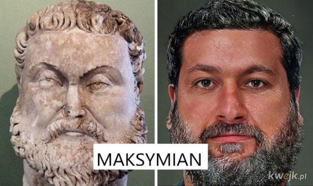 Portrety rzymskich władców na podstawie rzeźb, obrazek 24