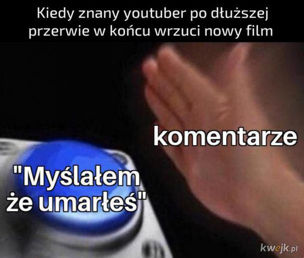 Znany youtuber