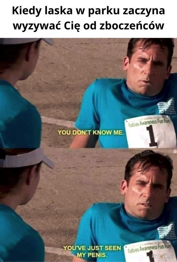 Nie znasz mnie!