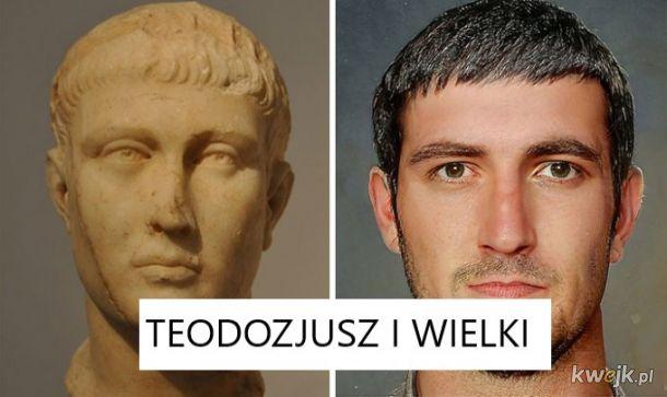 Portrety rzymskich władców na podstawie rzeźb, obrazek 4
