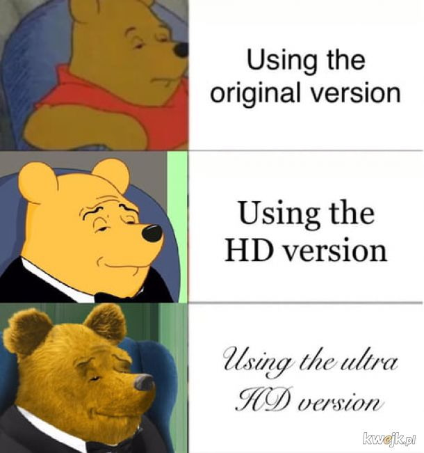 different version