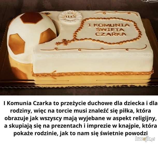 I Komunia Czarka