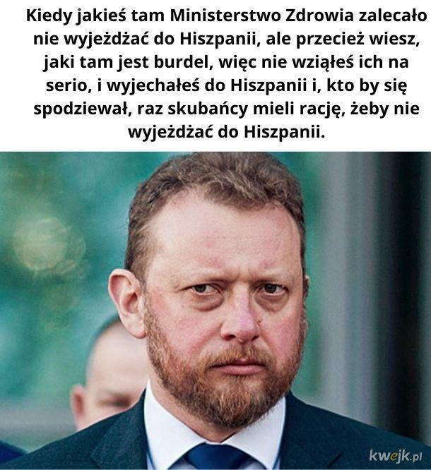 Zdrówka Panie Ministrze!