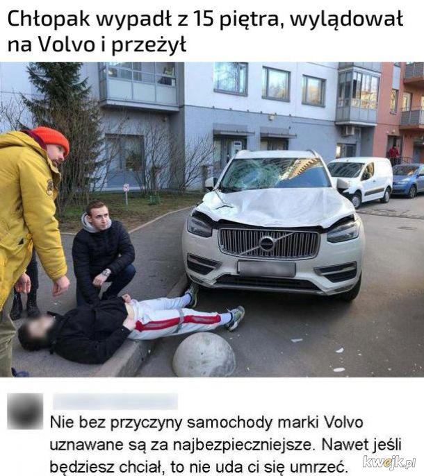 Bezpieczne Volvo