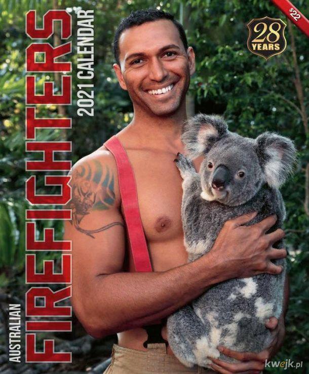 W końcu jest! Kolendarz na 2021 rok z australijskimi strażakami!