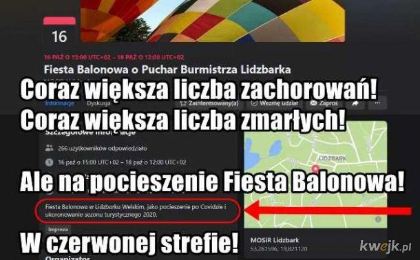 Fiesta Balonowa - na zakończenie Epidemi