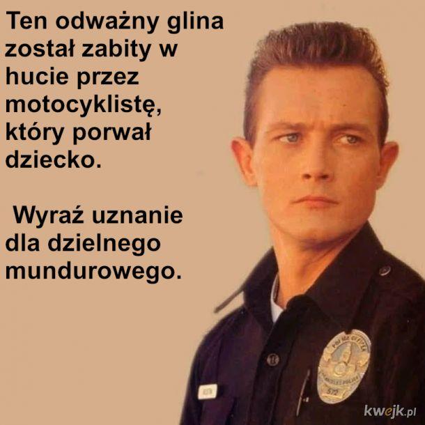 Szacujmy dzielnych policjantów