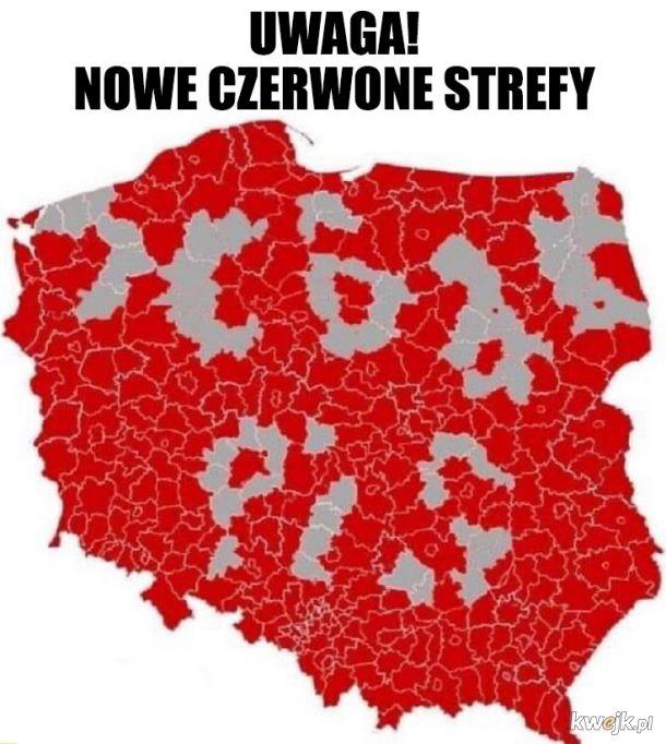 Nowe czerwone strefy