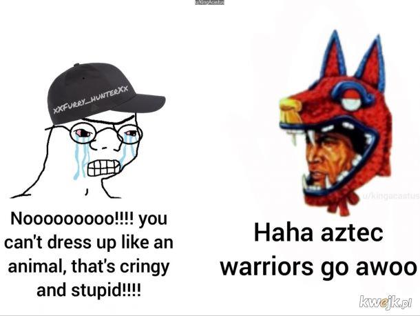 Aztekowie to furry