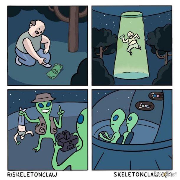 Porwanie kosmitów