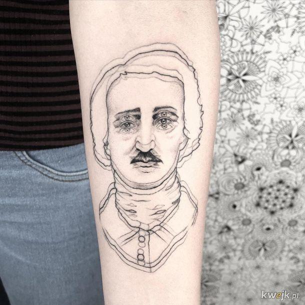 Iluzja optyczna w tatuażu, czyli jak sprawić, by wszytskich bolały oczy