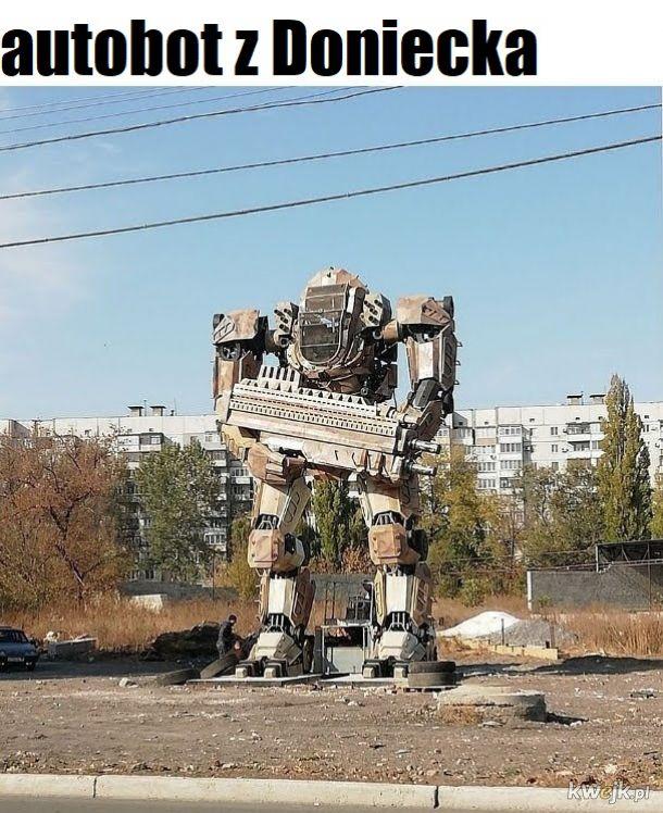 Deformacja w robota