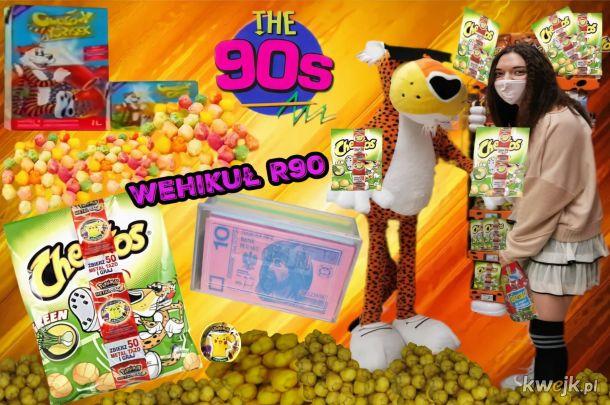 Słodycze z lat 90 tych